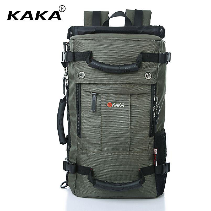 KAKA Brand Designer Laptop Backpack Men Messenger 17