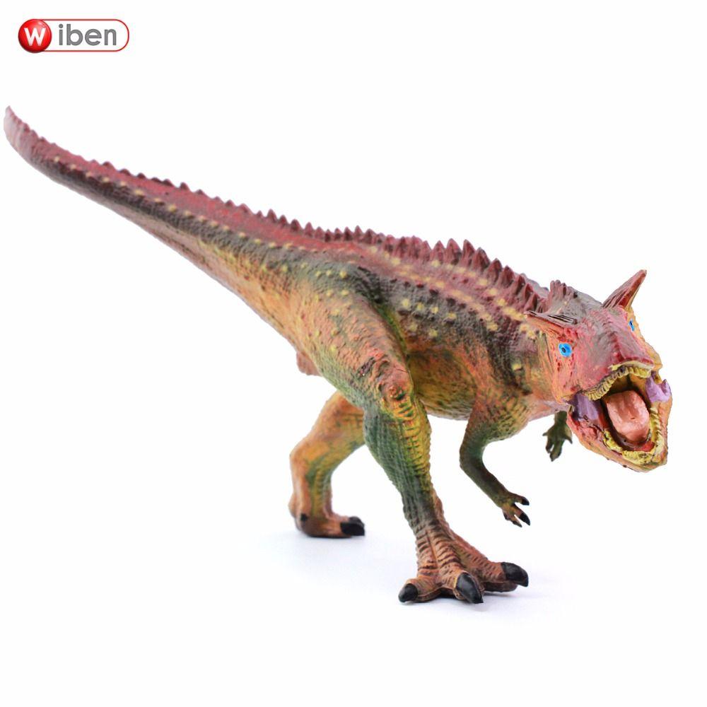 Wiben Jurassic Carnotaurus Dinosaure Jouets Action Figure Modèle Animal Collection Cadeaux Jouets Pour Enfants de Haute Qualité Brinquedos