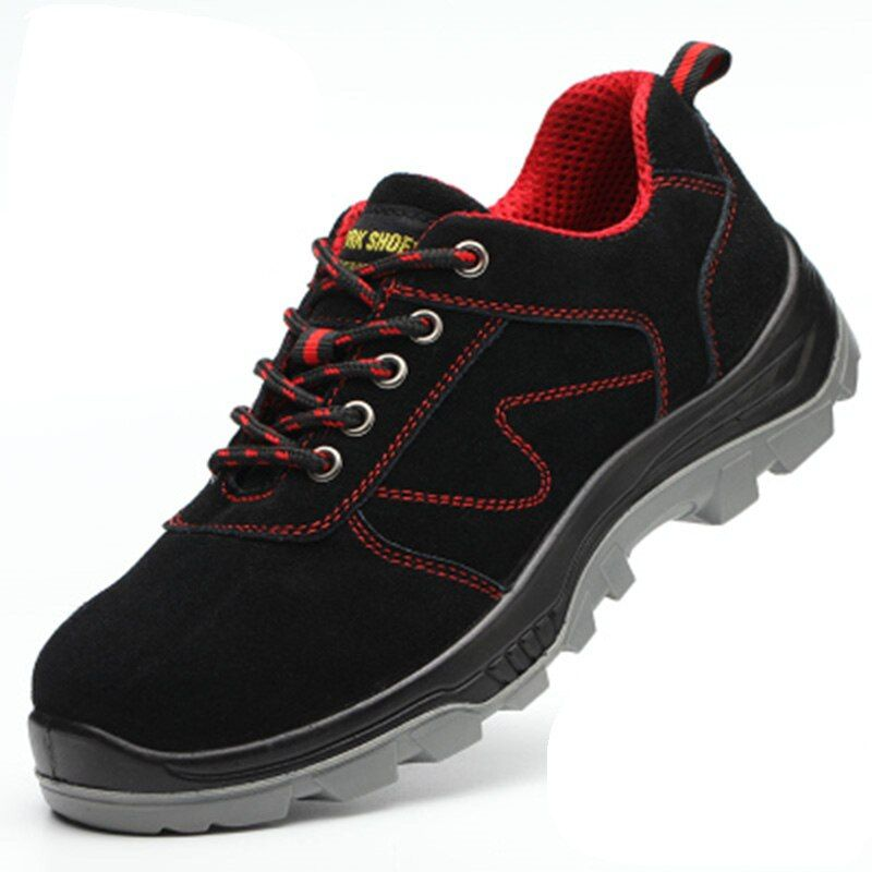 Work Safety Shoes Steel Toe Puncture Proof Labor Insurance Shoes Warm Breathable men winter shoes