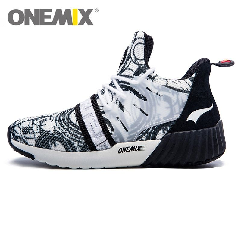 2017 ONEMIX Impression style Running shoes Air Mesh men Sneakers lightweight High Quality Popular trend Walking shoes