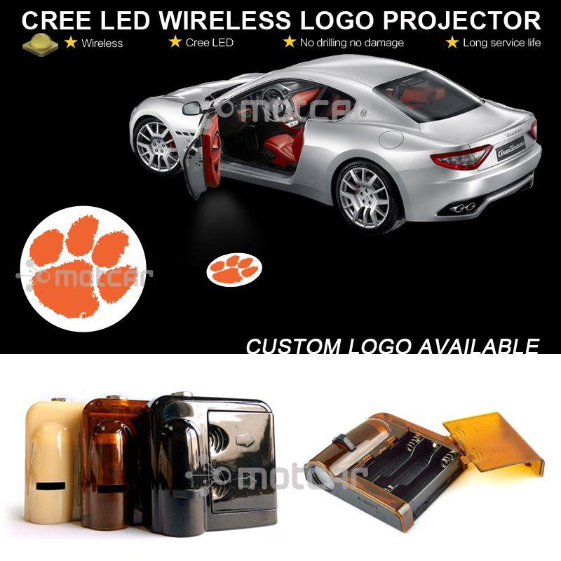 Двери автомобиля Шаг Предоставлено Добро пожаловать проектора лазерный cle-MSON Тигры гобо логотип Призрак Тень Лужа эмблема светодиодный ...
