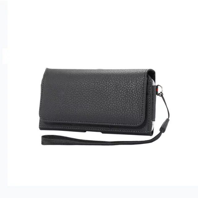 Luxury Leather Belt Pouch Phone Case Cover Bag Holster For Huawei Honor 9 Lite / Nova 3e P20 Lite / P20 / for Sony Xperia XA1