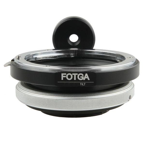 FOTGA Tilt objectif Bague D'adaptation pour Canon EOS EF Monture Micro 4/3 M43 M 43 E-P3 G2 EPL5 EPL6