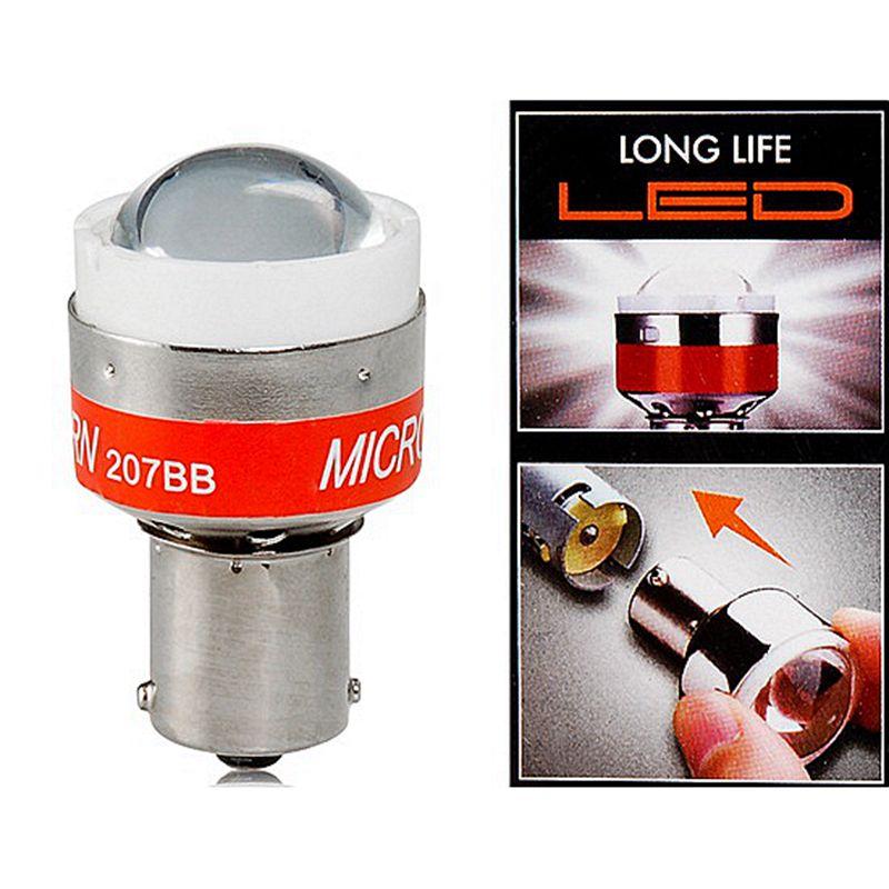 Universal Automotive Car 12V LED Back Up Alert Beep Light Reverse Alarm Bulb Beeper Buzzer Emits Beep Sound for P21W BA15S