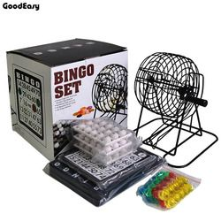 Bingo Set 75 Bola Mesin Lotre Menarik Mesin Bingo permainan untuk Publik Show/Partai/Kinerja Komersial Beruntung Bola permainan