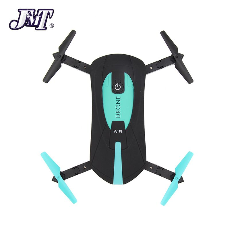 JMT JY018 30W / 200W Foldable Mini RC Pocket Drone Quadcopter 4-axis Aircraft UAV WiFi Fixed Aerial Photography