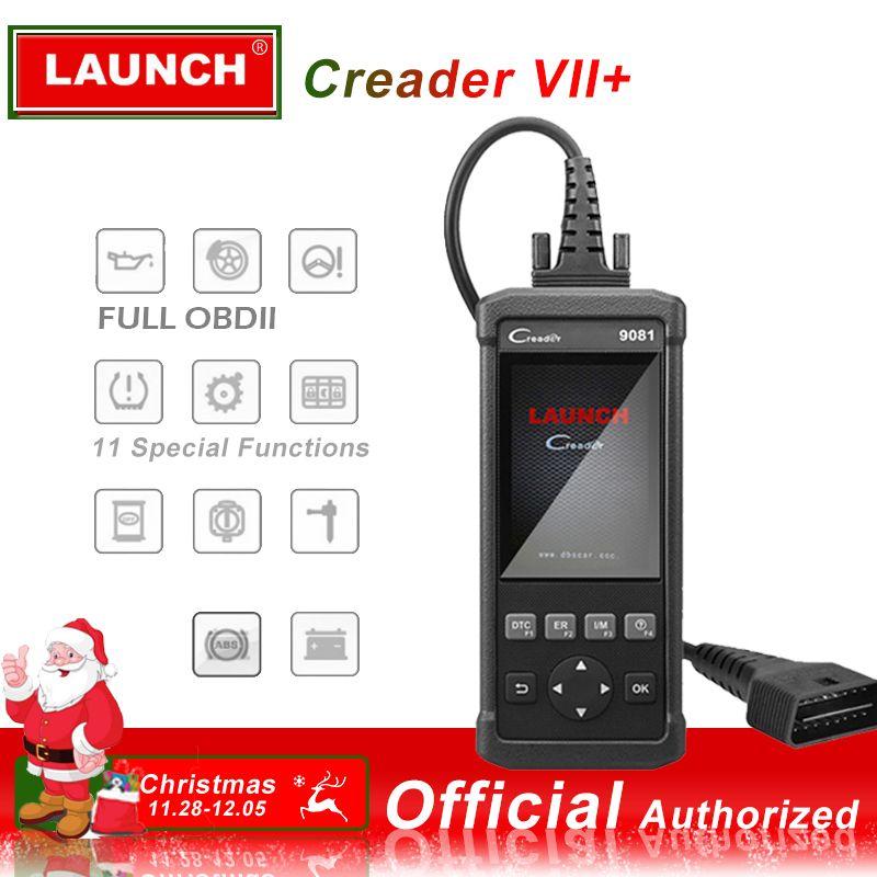2018 Launch OBDII Scanner Creader 9081 code reader Scanner With Air bag Battery Management System Reset CR9081 OBD 2 diagnostic