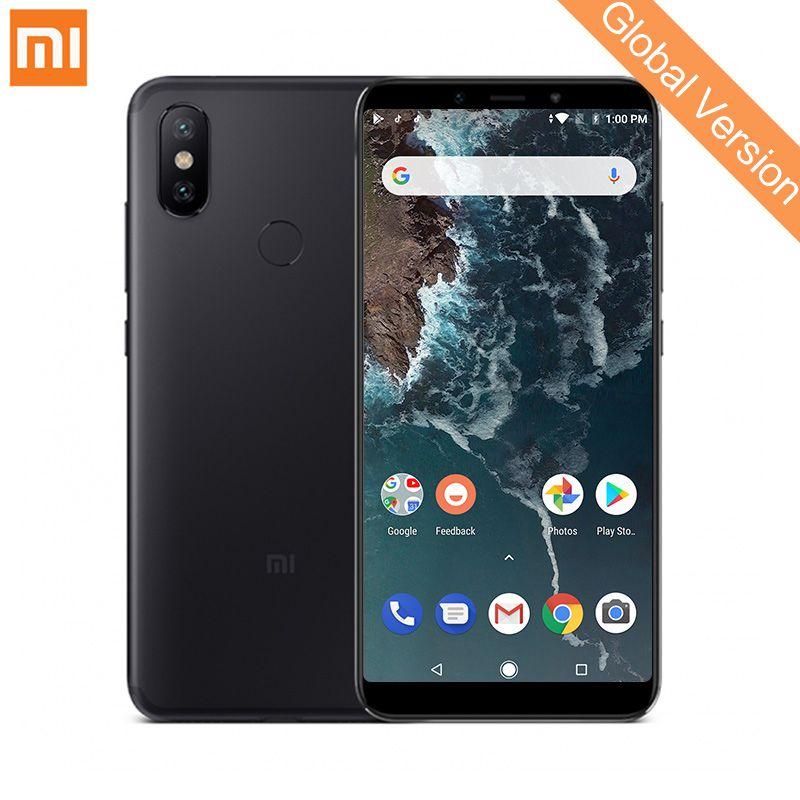 Global Version Xiaomi Mi A2 4GB 64GB Smartphone Snapdragon 660 Octa Core 20.0MP AI Dual Camera 5.99 18:9 Full Screen Metal Body