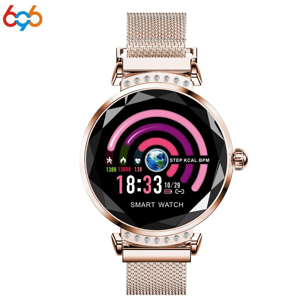 696 H2 Montre Smart Watch Fitness Bracelet Femmes smartwatch Sang Pression Surveillance de la Fréquence Cardiaque Bracelet Lady Montre Cadeau Pour Les Amis