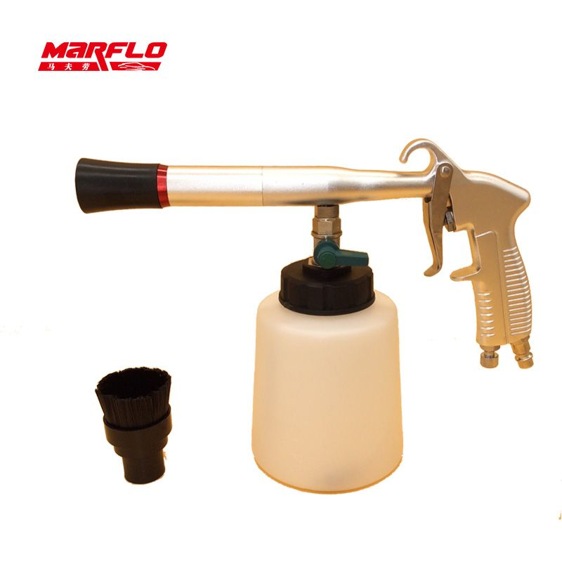 Marflo Leather Cleaner Tornado Gun Bearing Tornador Car Wash Tools High Qulaity Carpet Cleaning Tooling