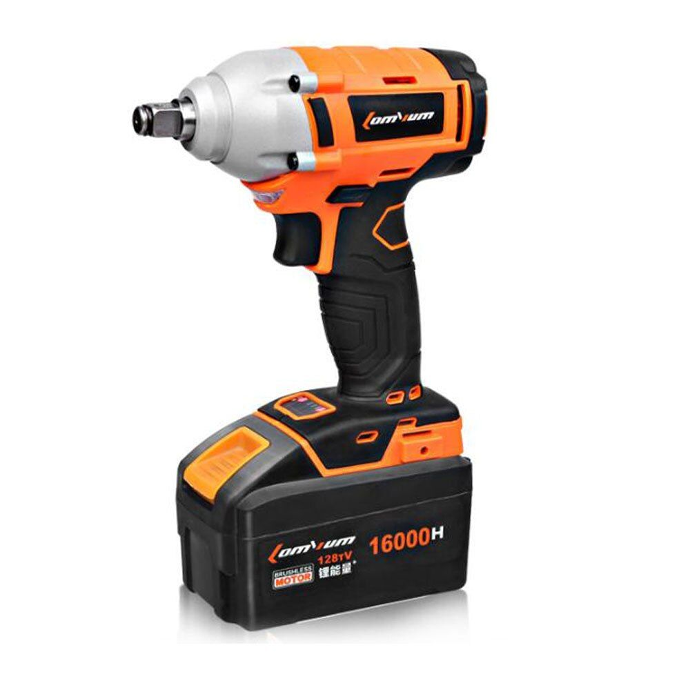 Electric Cordless Impact Wrench Brushless Spanner Lithium Rechargeable battery Wind Cannon Sleeve Installation Power Tool Set