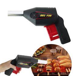 Manual Berkemah BBQ Fan Blower Udara Barbekyu Api Bellows Kompor Alat AGV