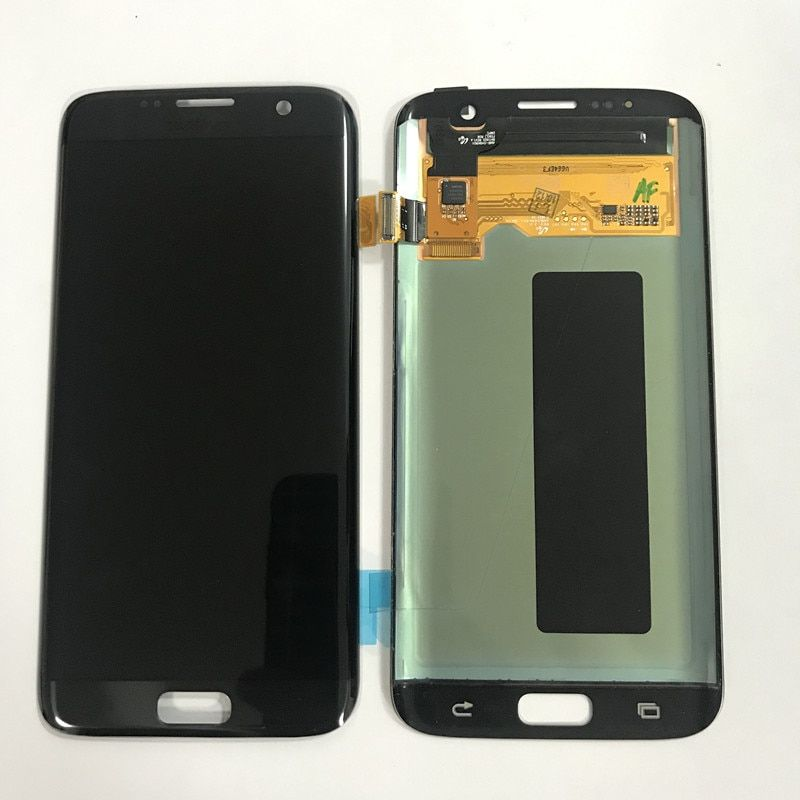 Test Burn Shadow LCD Display For Samsung S7 edge LCD Display For S7 edge G935 G935F Display LCD Screen Touch Digitizer Assembly