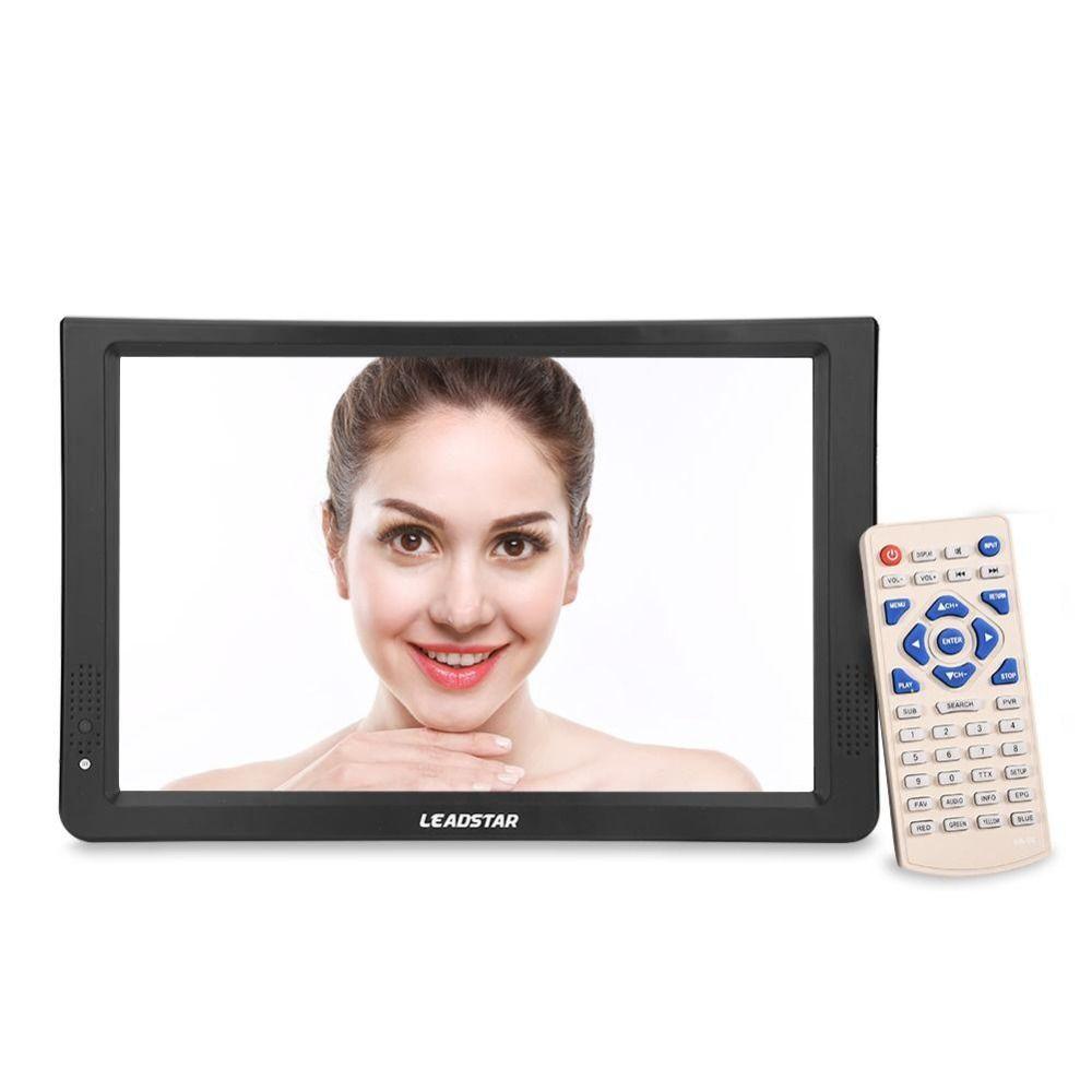 11.6 Inch Portable Digital Analog Television DVB-T/T2 1280*800 Resolution HD PAL 1080P LED TV for Home Car Airplane