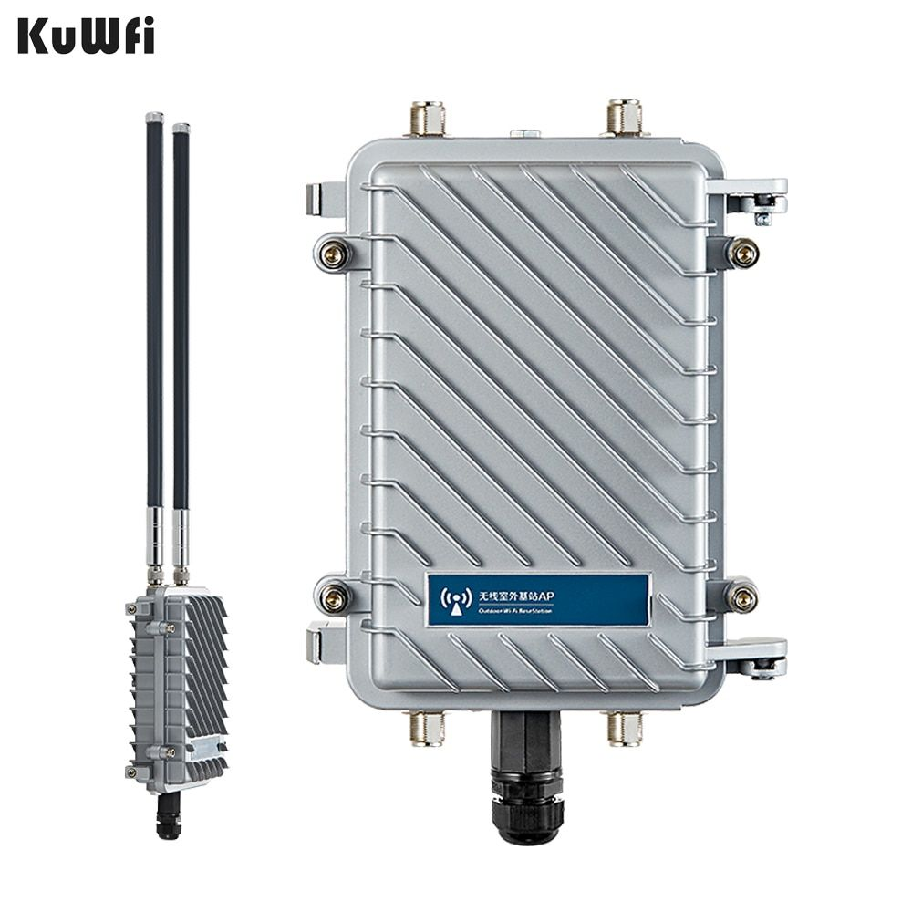 300 Mbps Outdoor Wireless CPE Router Wifi Repeater 500 mW WiFi Signal Verstärker Lange-Palette Access Point Router Mit 2 Pcs Antenne