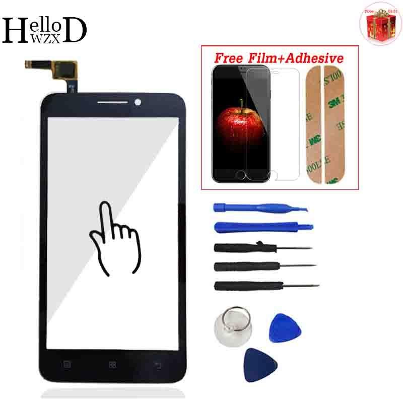 Für Lenovo A606 Eine 606 Touchscreen Digitizer Frontglas Objektiv Sensor Touchscreen Werkzeuge Kleber + Screen Protector Geschenk
