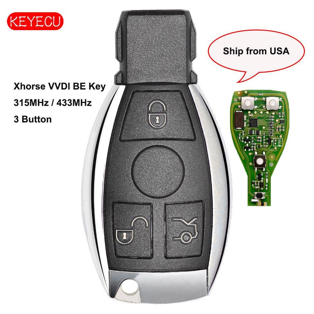 Keyecu Xhorse VVDI SEIN Schlüssel Pro Verbesserte Version Komplette Fern Schlüssel 315 MHz/433 MHz für Mercedes-Benz