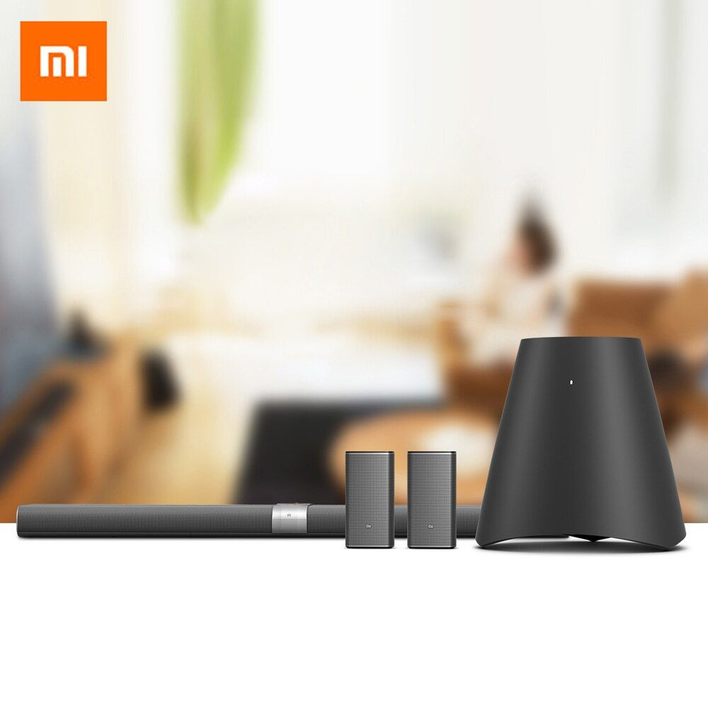 Original Xiaomi Mi Home Theater TV Speaker Wireless Soundbar Bluetooth Subwoofer Stereo Sound Box with Smart AI System