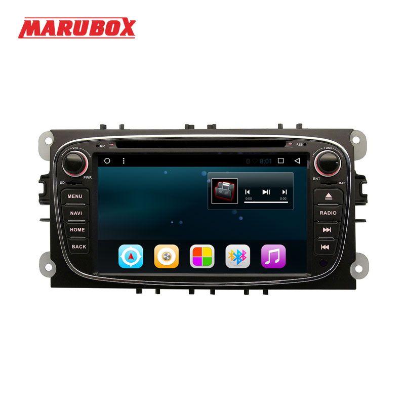 Marubox M600R16, Quad Core, Android 6.0.1, Für FORD Mondeo S-MAX Verbinden FOKUS 2 2008-2011, 7 '', 1024*600, mit Radio GPS DVD