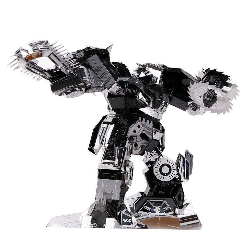 MU 3D métal Puzzle désespéré Ripper YM-N016-DS modèle bricolage 3D Laser Cut assembler Puzzle jouets de bureau décoration cadeau pour l'audit
