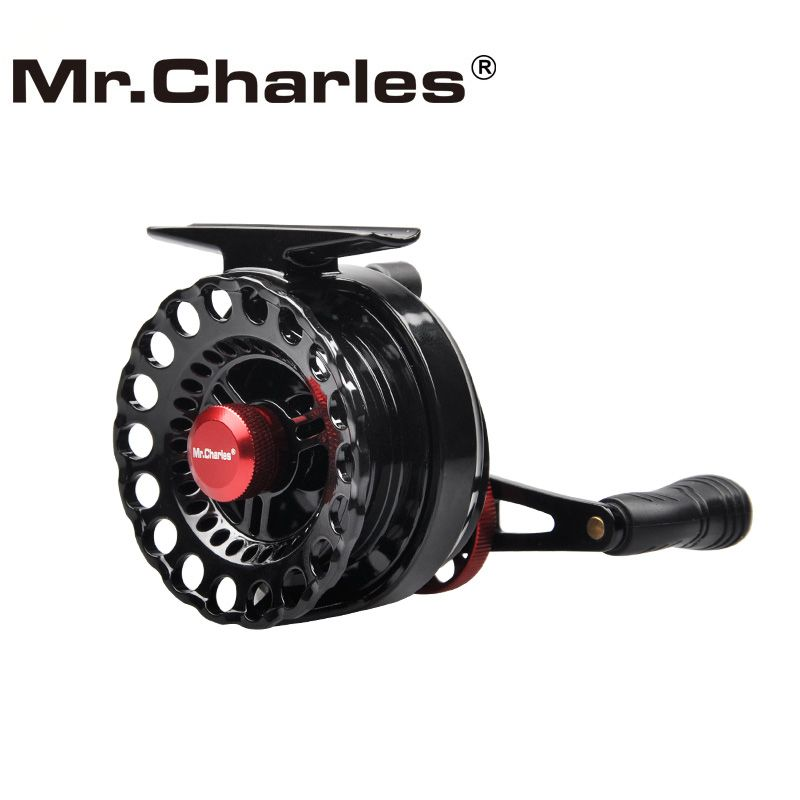 M. Charles Nouveau NND-L65 Gear ratio 3.6: 1 En Plastique radeau Moulinets De Pêche Gauche/Droite Main Pêche À la Mouche bobine Radeau de Glace Moulinet De Pêche