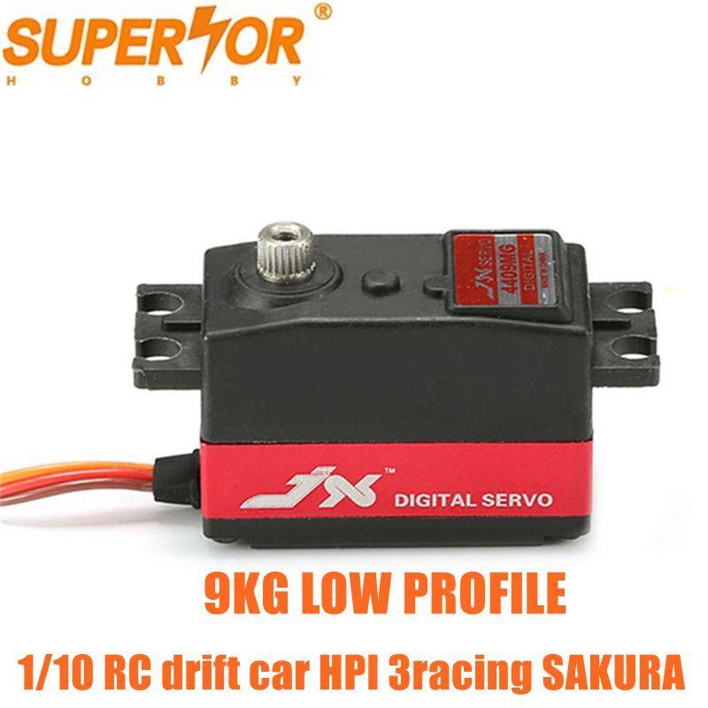 JX PDI-4409MG 9 KG haute vitesse profil bas court Servo numérique Standard 1/8 1/10 RC dérive voiture yokomo HPI 3 racing SAKURA D4 CS