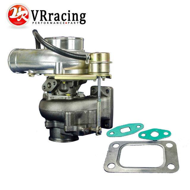 VR RACING - WGT35 GT30 Turbine A/R .63 Com A/R .70 T3 flange v-band-79mm TURBO TurboCharger internal wastegate VR-TURBO51