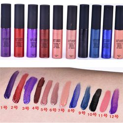 Profesional 1 stick maquillaje batom Matte Lipstick Kit labios de larga duración impermeable labios mujeres maquillaje belleza cosméticos