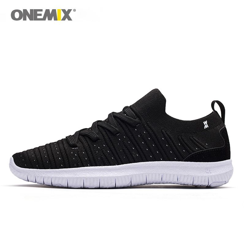 ONEMIX 2018 summer socks running shoes for men light cool breathable sneakers knitted vamp durable RB outsole socks-lik sneakers