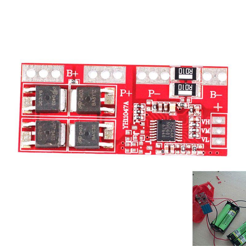 4 S 30A Hochstrom Lithium-ionen-lithium-batterie 18650 Schutz Bord Modul 14,4 V 14,8 V 16,8 V Überladung über Kurzschluss
