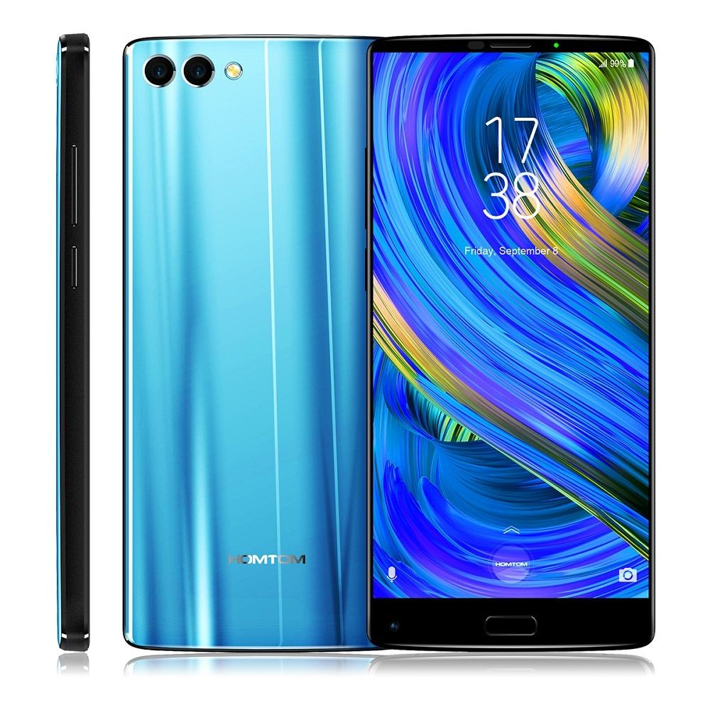 HOMTOM S9 Plus 4G Smartphone 5.99 inch Android 7.0 MTK6750T Octa Core 1.5GHz 4GB RAM 64GB ROM Support OTG Fingerprint
