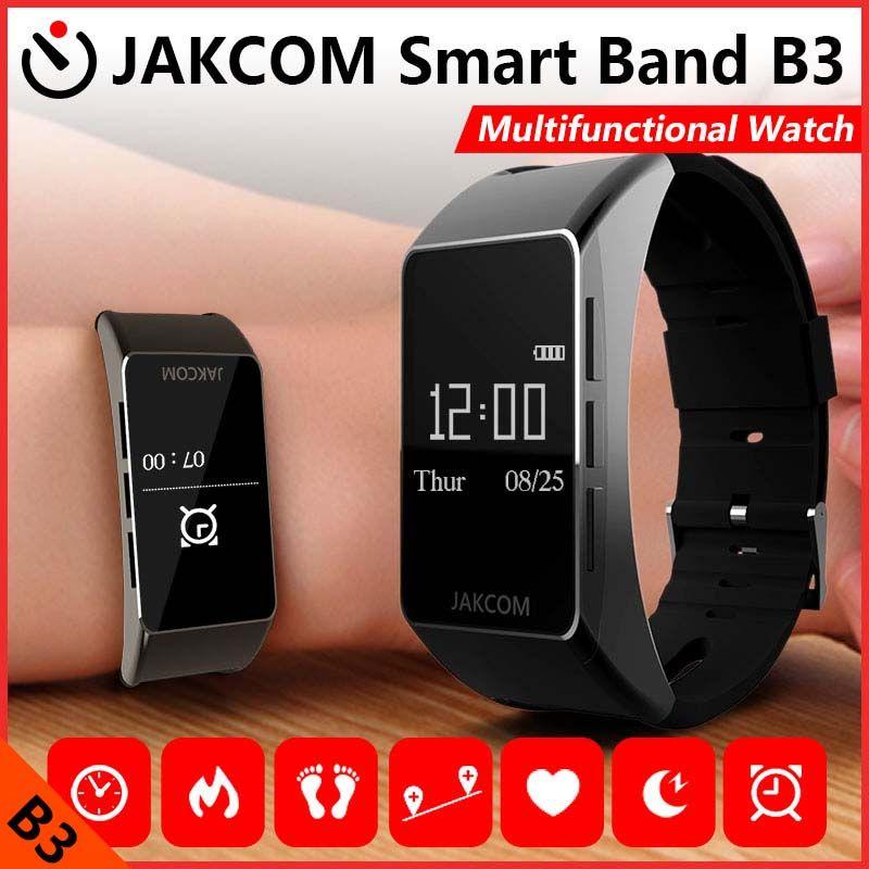 Jakcom B3 bande intelligente nouveau produit de Bracelet de Fitness intelligent montre Bracelet de fréquence cardiaque montre pour Xiao mi bande d'impulsion 1 S Sma bande
