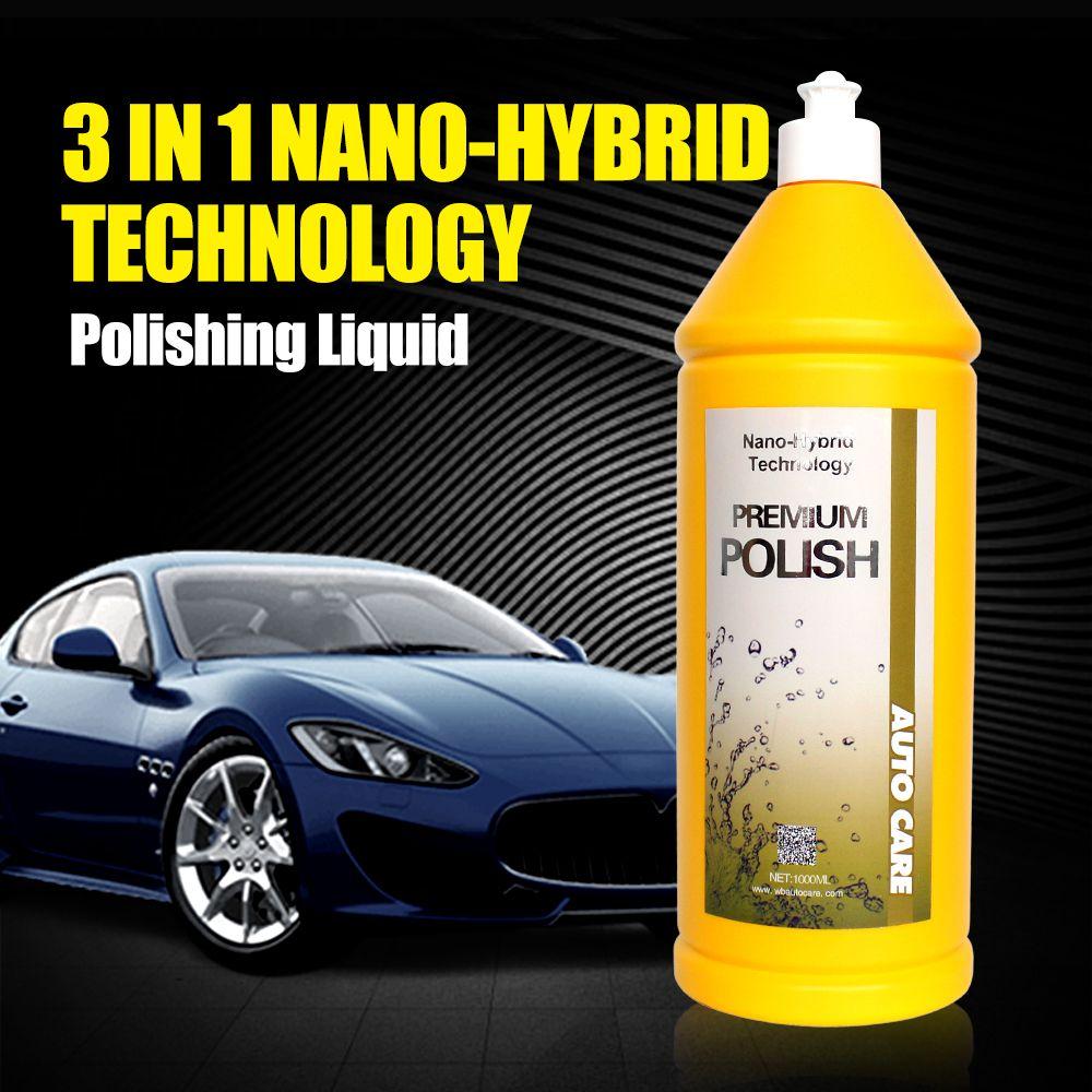 500ml Car Polish Liquid Glass 3 in 1 Ceramic Final Car Polish Drill Wax Micro Scratches Remove Car Paint Repair Polishing Liquid