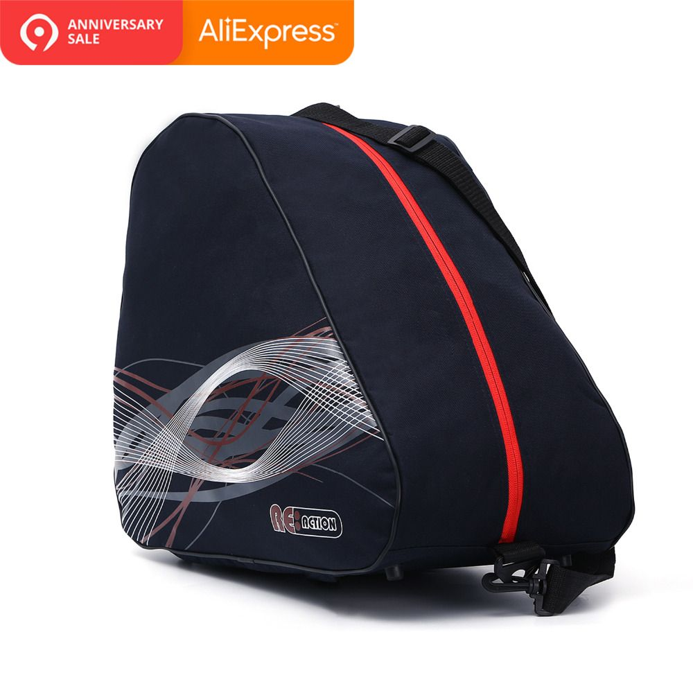 Thick Professional Ice Ski Snow Boots Bag Skate Shoes Helmet Portable Carry Shoulder Bag Non-slip For Snowboard Accessories