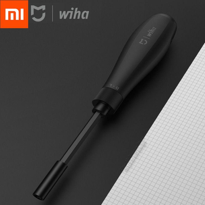 Le plus récent Kit de tournevis à usage quotidien Xiaomi Mijia Wiha 8 en 1 embouts magnétiques de précision bricolage tournevis ensemble pour la maison