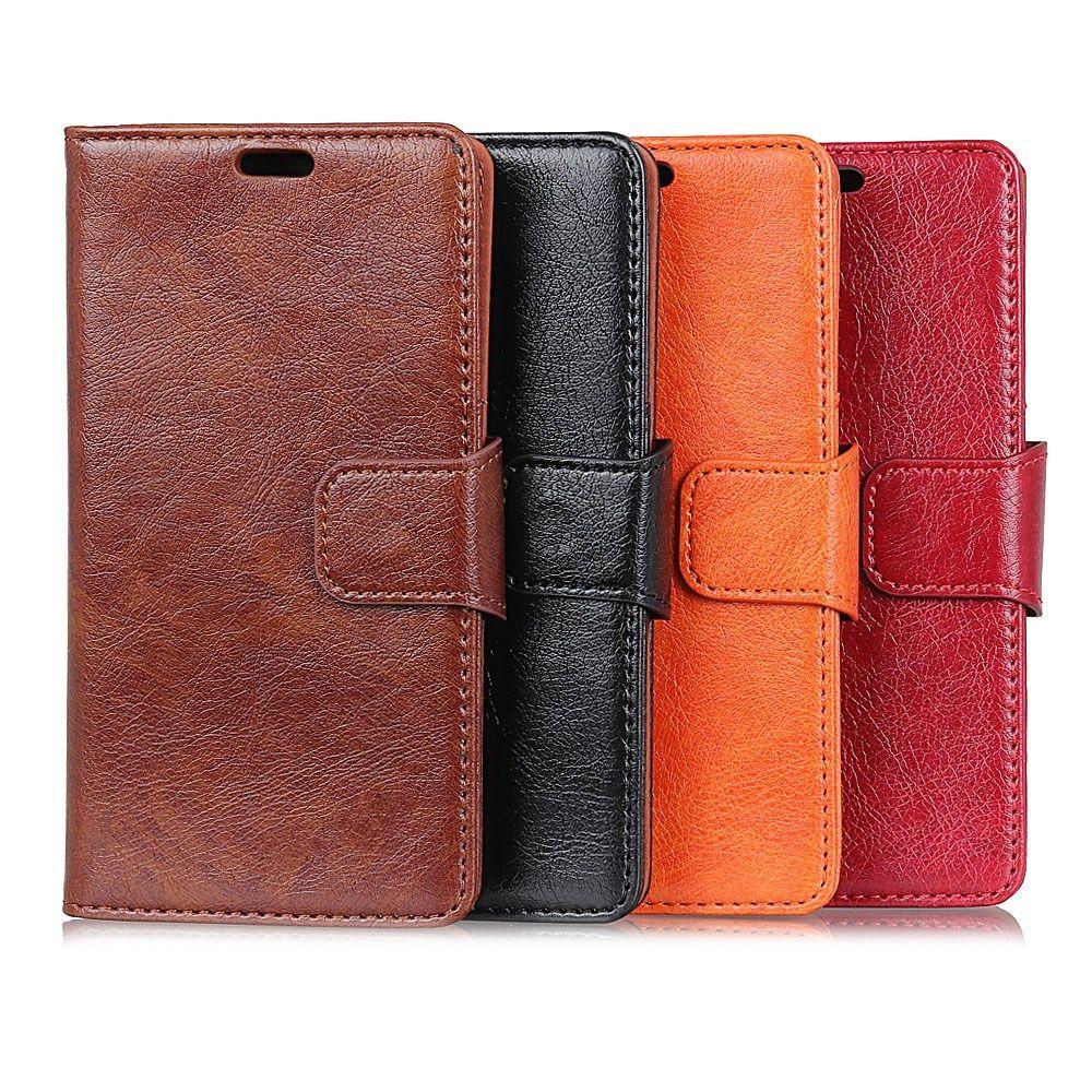 Pour coque Xiaomi Redmi 4X Cas De Luxe en cuir Véritable Flip Téléphone sacs Magnétique boucle portefeuille couverture Pour Xiaomi Redmi Note 4X cas
