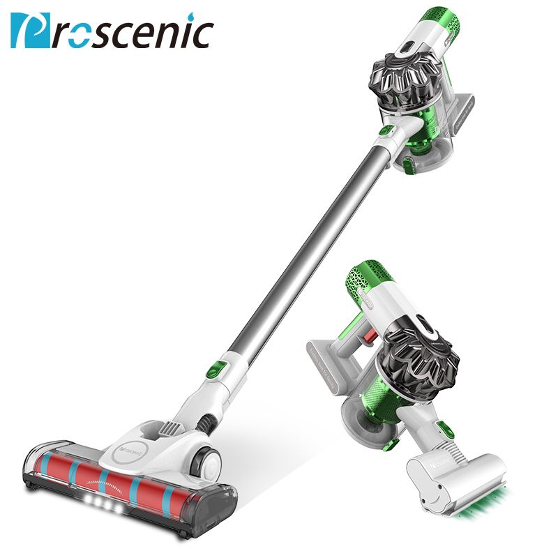 Proscenic P9 Cordless Vacuum <font><b>Cleaner</b></font> 15000pa Powerful Suction Led Light Stick Handheld Portable Vacuum 3 in 1