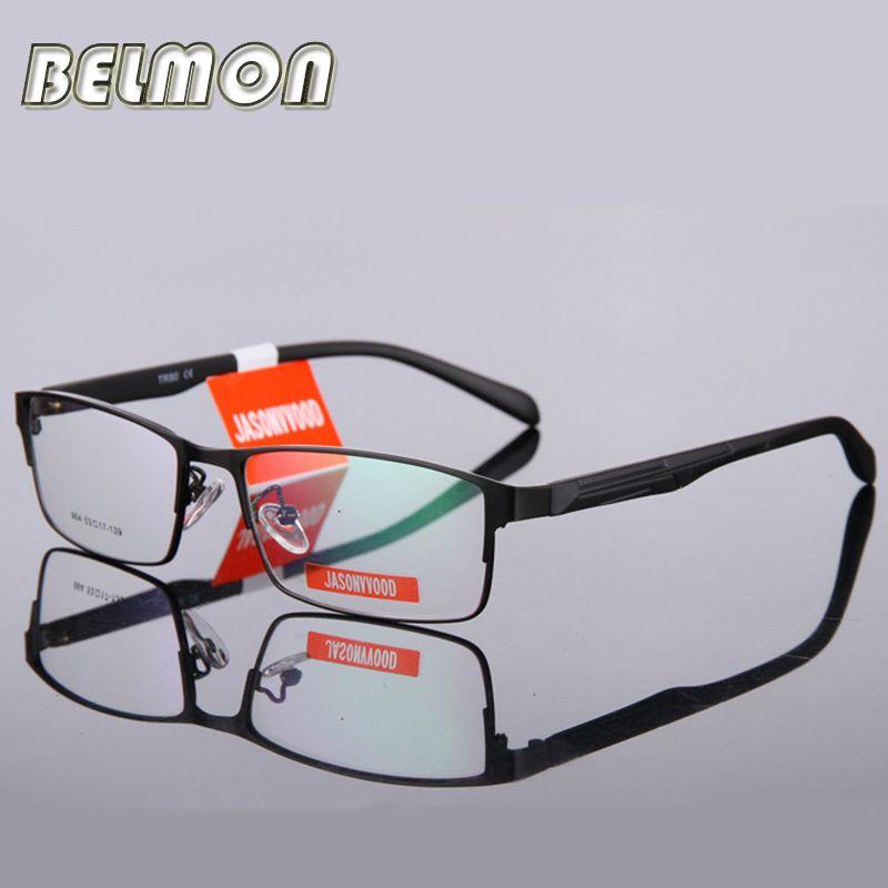 Belmon очки кадр Для мужчин компьютер Оптический очки зрелище кадр для мужчин прозрачный прозрачные линзы Armacao de RS009