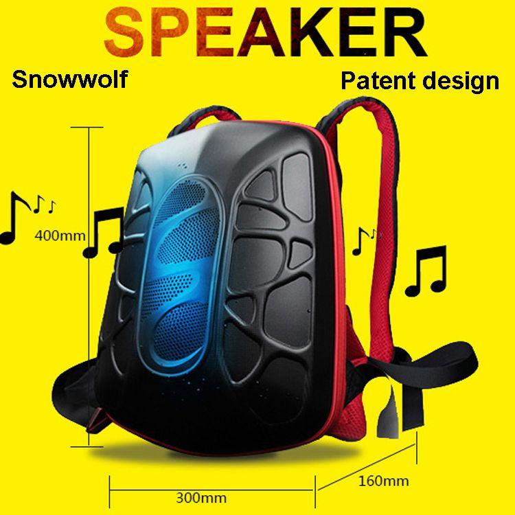 2017 neues Produkt wasserdicht staubdicht mit Bluetooth lautsprecher Audio bagpack radfahren sport Rucksack universal für ipad mini pro