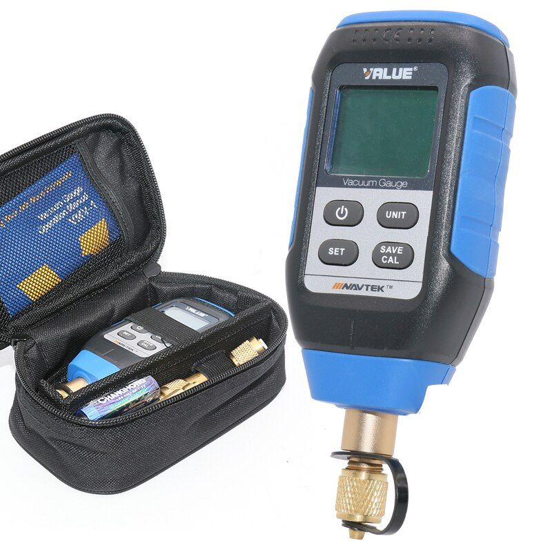 Intelligent digital vacuum gauge Laboratory refrigeration system vacuum inspection vacuum gauge VMV-1 0-10000P