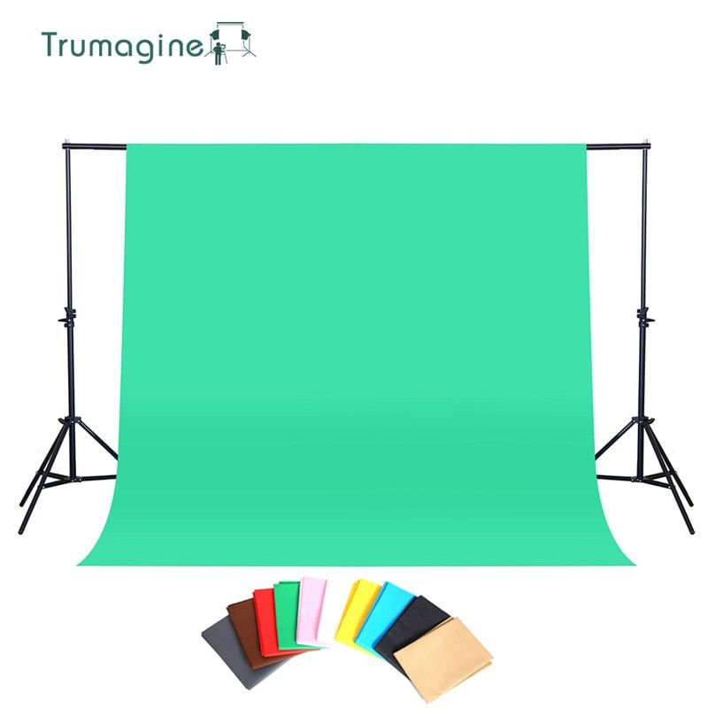 1.6X2M/3M Photography Background Photo Studio Green Screen ChromaKey Backdrops Non Woven Shoot Backdrop For Studio Photo light