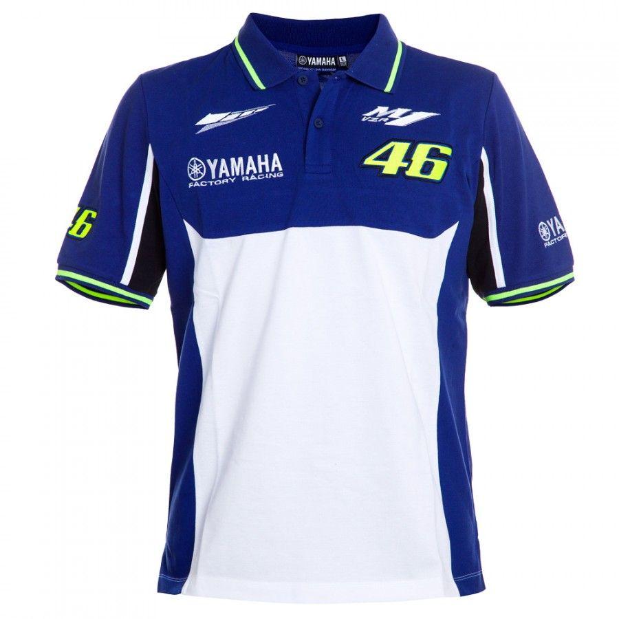 100% Cotton Luna M1 Racing Team Moto GP Polo Shirt Motorcycle for Yamaha Polo T-Shirt