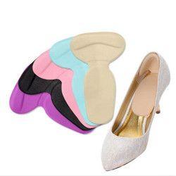 2 Paire Soins Des Pieds Talons Gel pad scholls Semelles outils anti-friction talon gel pad mince patch chaussures orthopédiques pour les Femmes