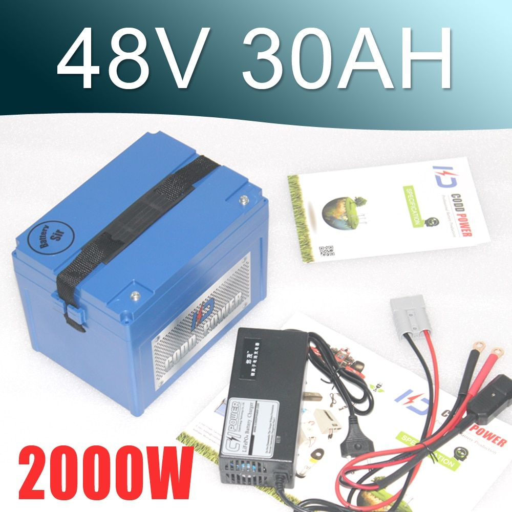 48V 30Ah Lithium battery Electric bike and Electric Bike Coversion Kit Including Charger