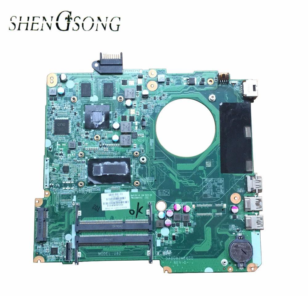 736377-001 736377-501 Free Shipping For HP 15 series 15-n005TX laptop motherboard DA0U82MB6D0 SR170 i5-4200U 100% tested