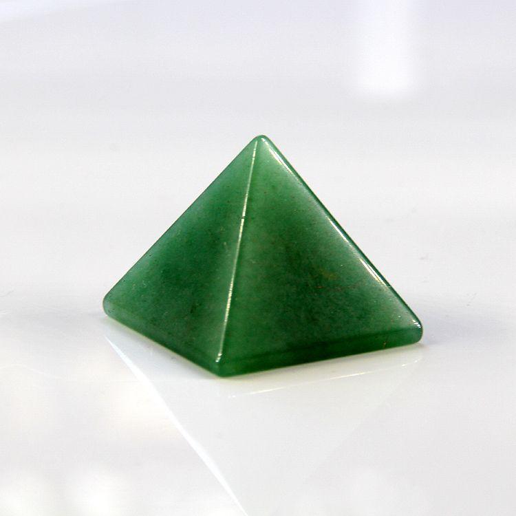 2015 30mm 100% naturel vert Aventurine quartz cristal pyramide Chakra pierres guérison Reiki livraison gratuite