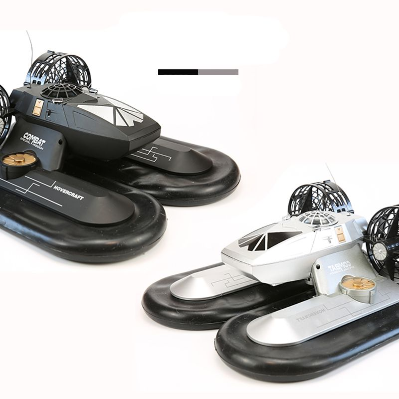 RC Boat Hovership Amphibious Transport Dock 6CH Remote Control Hovercraft Boat High Simulation Electronic Hobby Toys For Kids