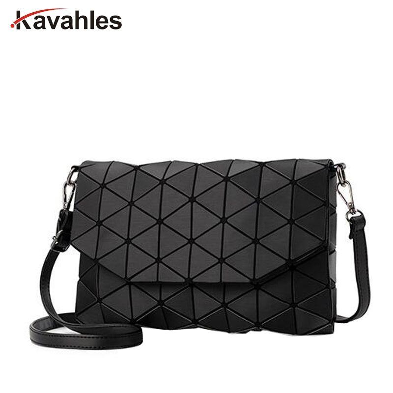 Matte Designer Women Evening Bag Shoulder Bags <font><b>Girls</b></font> Flap Handbag Fashion Geometric Casual Clutch Messenger Bag PP-1148