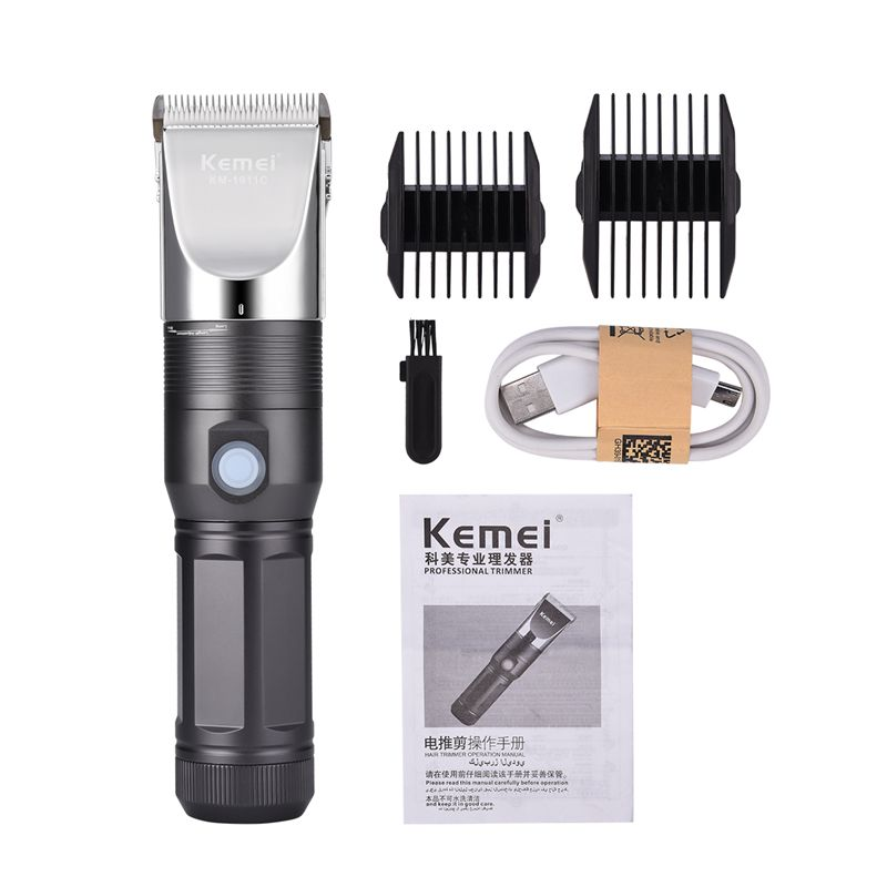 Professional Electric Hair Clipper Men's Cordless Hair Trimmer USB Rechargeable Fine Tuning Hair Cutting Machine To Haircut S50