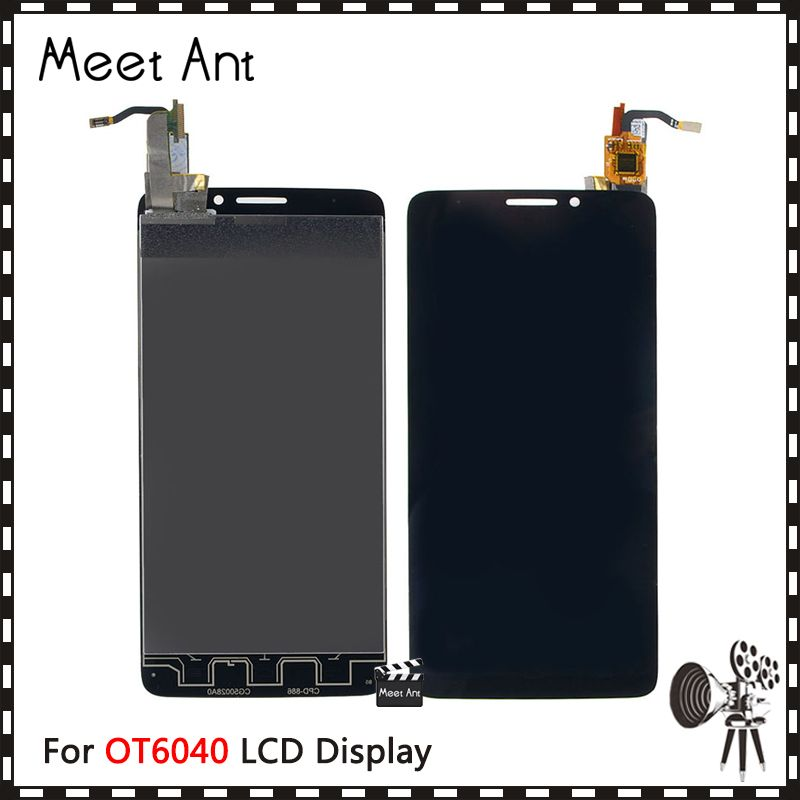 High Quality 5.0'' For Alcatel One Touch Idol X OT6040 6040 6040D LCD Display Screen With Touch Screen Digitizer Assembly